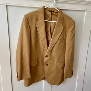 Shefford by Anderson Little Camel Wool Blazer
